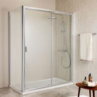 Skärmvägg för bad och dusch