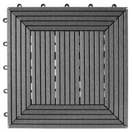 Däck &Balkongplatta Beach Grey InstaClick . 295x 295 x 26 mm, 4 stk/frp