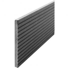 Komposit täckbräda Beach Grey 10  x 130 x 2400 mm för komposittrall
