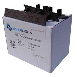 Ändlock - för Everdeck™ komposittrall Charcoal