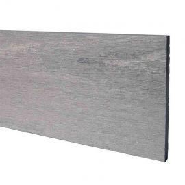 Komposit täckbräda Cloudy Grey 10 x 130 x 2400 mm för Komposit komposittrall
