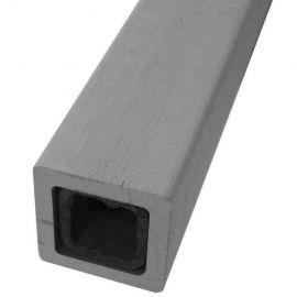 Regel för Traditional Staket Grey White 37  x 37 x 1800mm